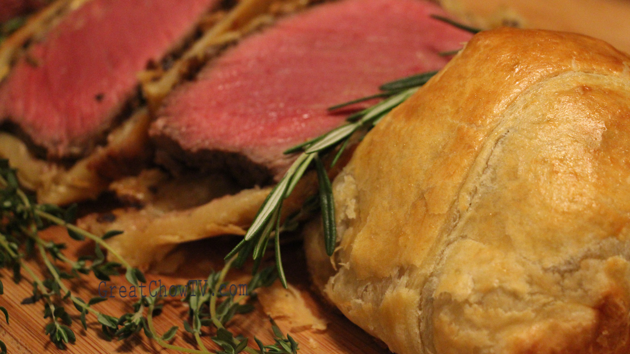 Beef Wellington With Puff Pastry Great Chow Tv